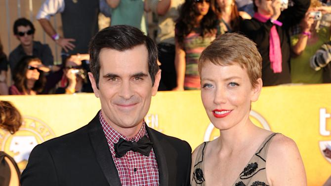 FILE:  Ty Burrell And Wife Holly Adopt Daughter