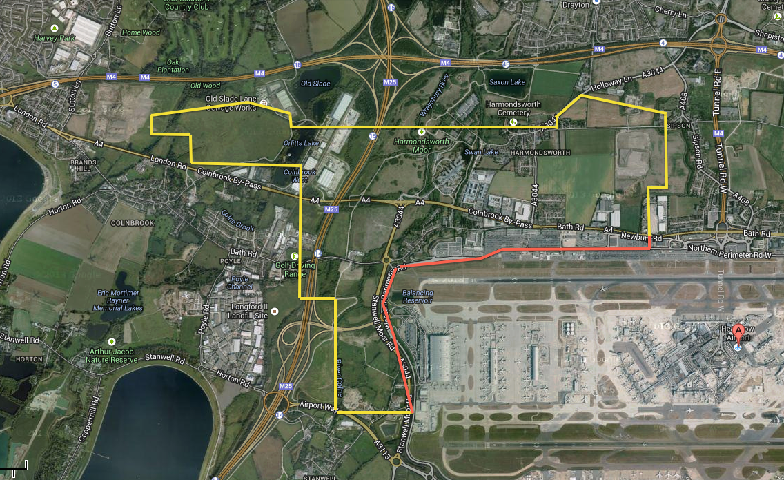 london heathrow airport expansion plan