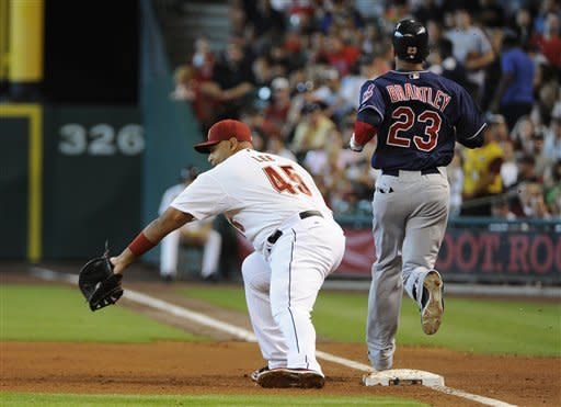 Astros find offense in 8-1 win over Indians