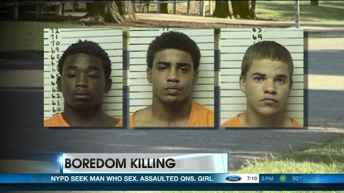 Boredom Slaying: Three Teens Gun Down Baseball Star
