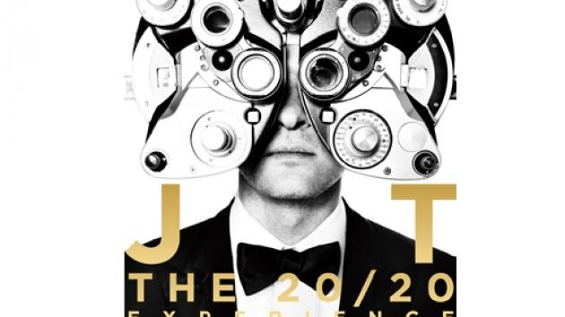 Justin Timberlake's album cover  -- RCA Records