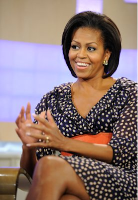 Michelle Obama appears on the