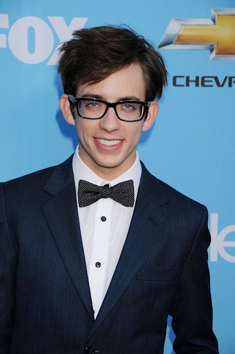 "Kevin McHale attends the ""Glee"" Season 2 Premiere Screening and DVD Release Party at Paramount Studios on September 7, 2010, in Hollywood."