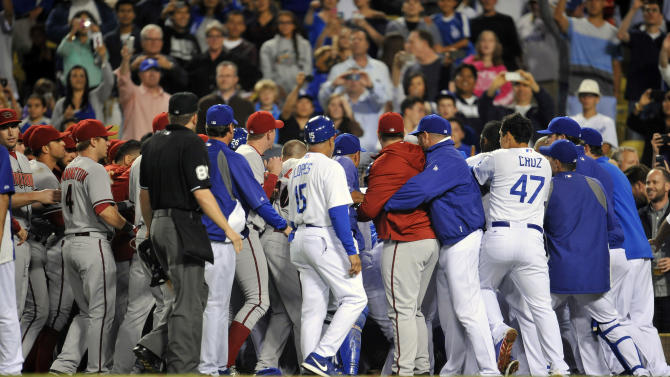 MLB: Arizona Diamondbacks at Los Angeles Dodgers