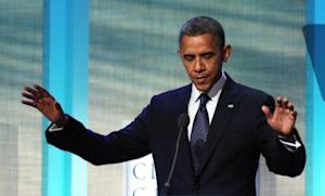 """The worst case scenario for Wednesday's debate? President Obama """"could fall off the stage,"""" says Obama traveling press secretary Jen Psaki."""