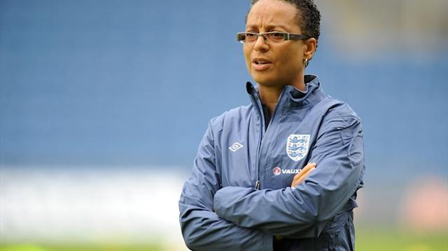 Hope Powell's England squad have not signed their central contracts