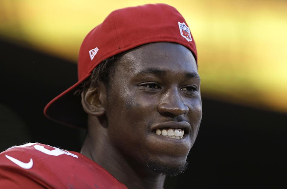 Aldon Smith to sit out next game for 49ers