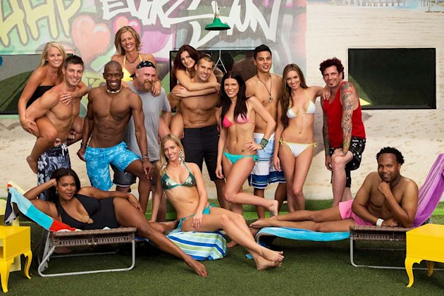 The cast of &quot;Big Brother.&quot; 
