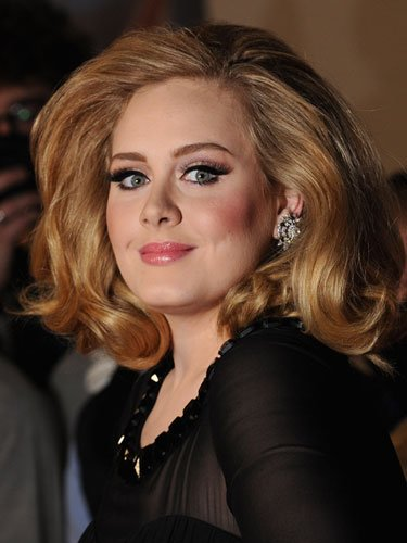 Shoulder-length: Adele