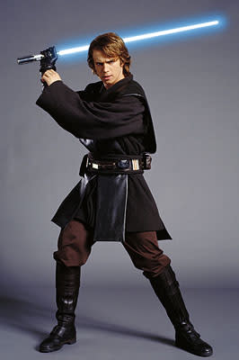 Hayden Christensen as Anakin Skywalker in 20th Century Fox's Star Wars: Episode III