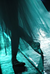 Social Media: Hows Your Dance Coming Along? image Dance blue ballerina 685x1024