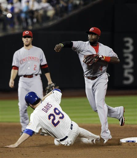 Bailey goes 8, Bruce homers as Reds beat Mets 4-1
