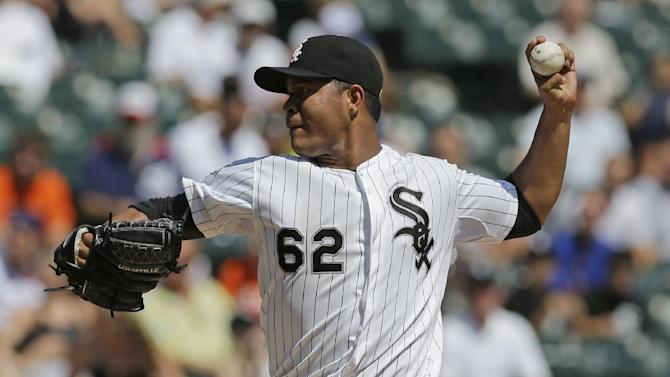 Quintana earns win, White Sox beat Tigers 6-2
