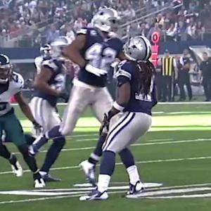 Dallas Cowboys' collision on punt return