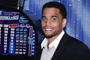 Actor Ealy poses during a photocall for the film 'Think Like A Man Too' in Beverly Hills, California