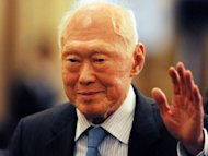 Singapore's founding leader Lee Kuan Yew (pictured in May) is fighting a neurological disease that is making it difficult for him to walk steadily, his daughter revealed. Lee, who turned 88 in September, suffers from sensory peripheral neuropathy, his physician daughter Lee Wei Ling, director of the National Neuroscience Institute of Singapore, wrote in her weekly Sunday Times newspaper column