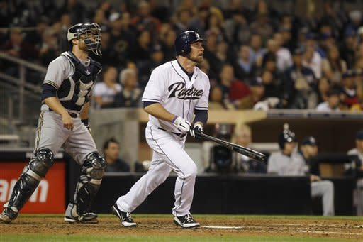 Kotsay's pinch 2-run homer gives Padres 2-0 win