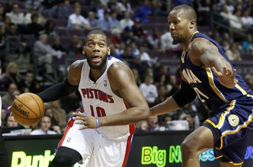 Pacers upend Pistons 88-77