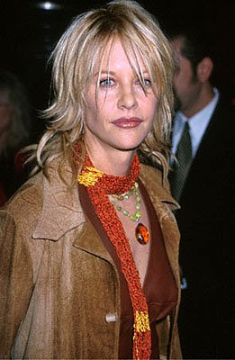 Meg Ryan at the Beverly Hills premiere of Castle Rock's Proof Of Life