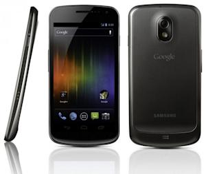 The Samsung Galaxy Nexus goes on sale December 15