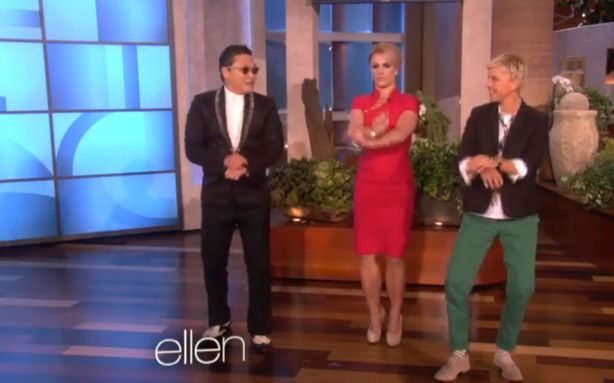 Britney Learns 'Gangnam Style' and a Math Nerd's Take on the 'Hunger Games'