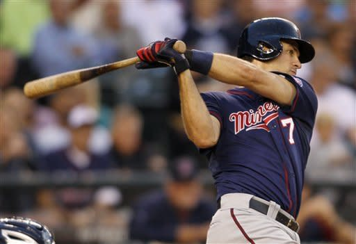 Jaso's fly in ninth gives M's 3-2 win over Twins