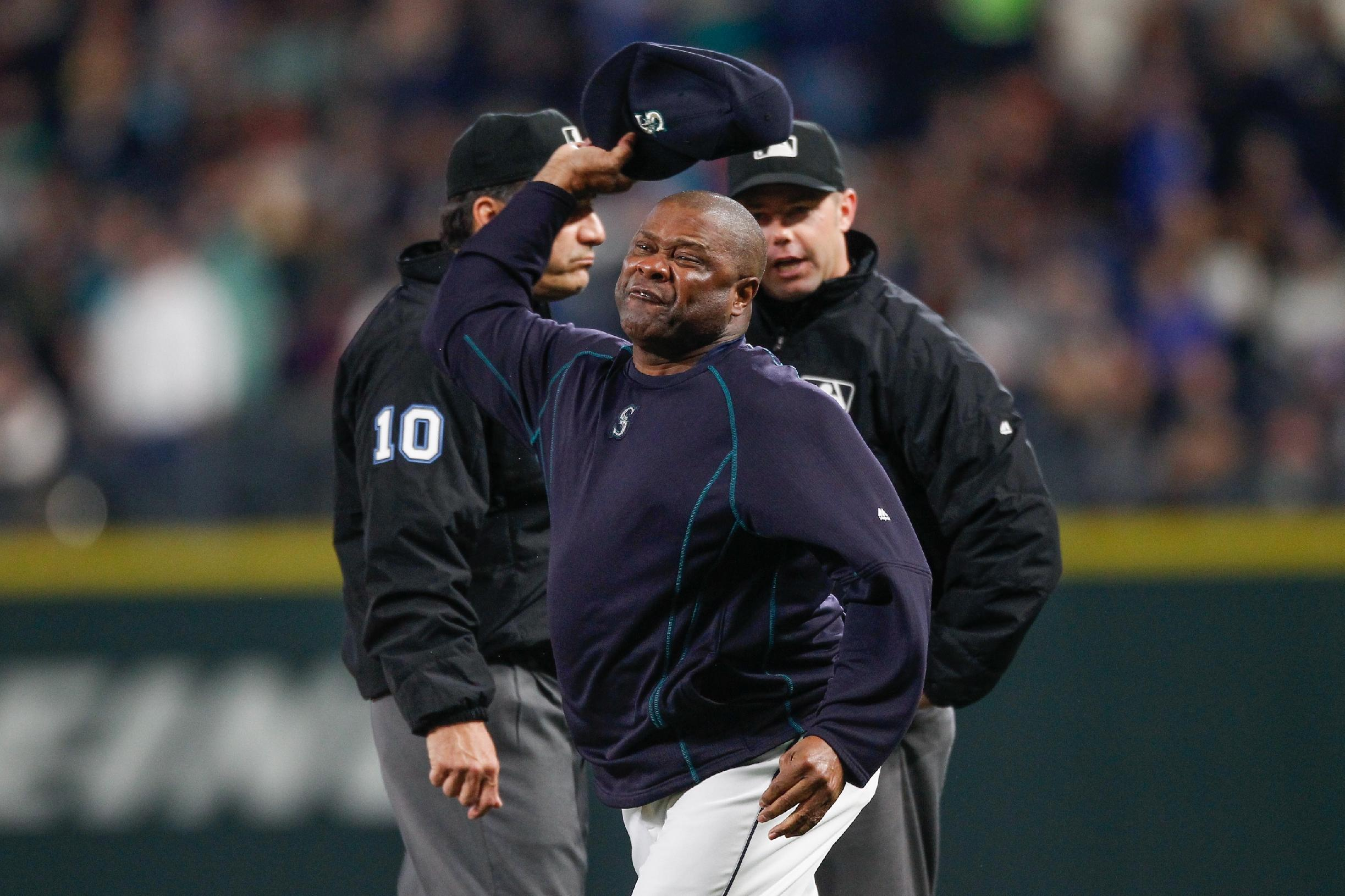 Lloyd McClendon lets every umpire know how he feels following ejection
