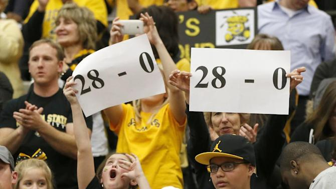 Shockers lone unbeaten left as season winds down