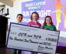 Grand Canyon University's Run To Fight Children's Cancer Raises $104,000 For Local Families In Need