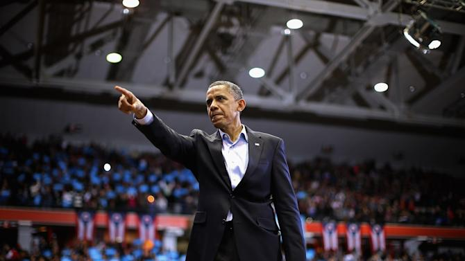 President Obama Continues His Push Through Key Swing States In Final Days Before Election