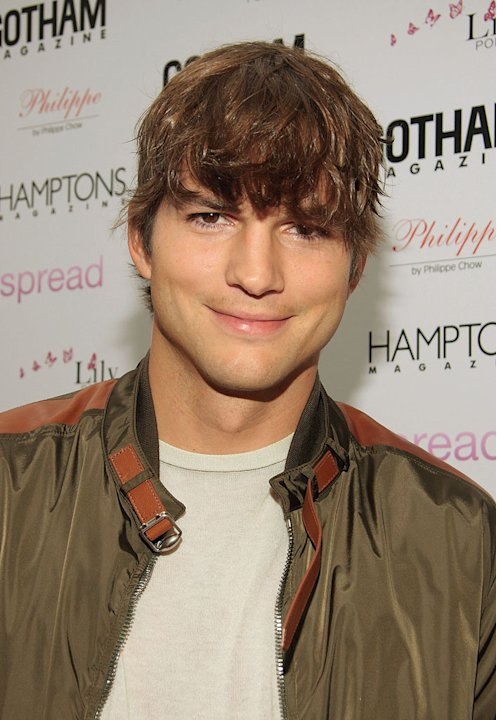 "Ashton Kutcher attends the special advanced screening of ""Spread"" hosted by Gotham and Hamptons Magazines at the UA East Hampton 6 on August 8, 2009 in East Hampton, New York."
