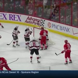 Chris Terry Goal on Keith Kinkaid (18:33/2nd)
