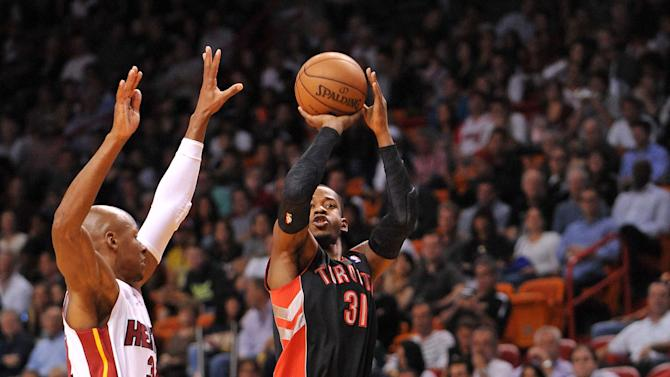 NBA: Toronto Raptors at Miami Heat