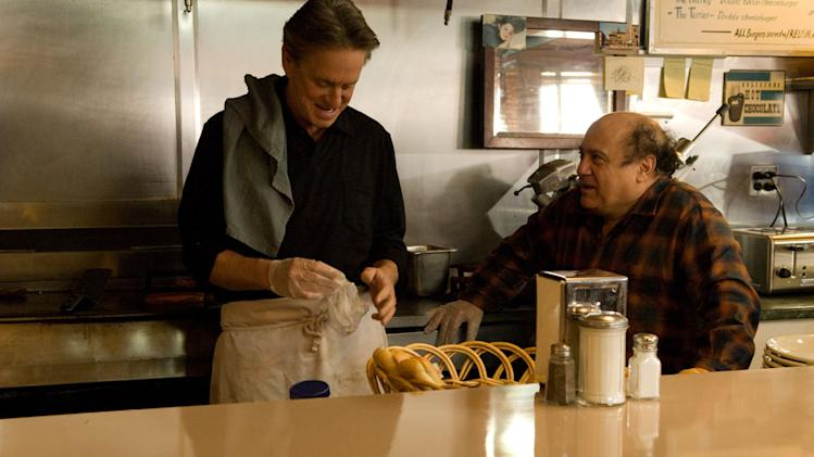 Michael Douglas Danny DeVito Solitary Man Production Stills Anchor Bay 2010