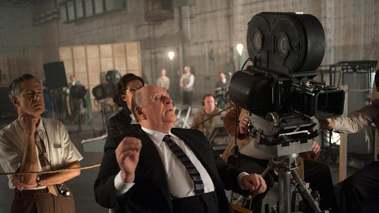 """This film image released by Fox Searchlight shows Anthony Hopkins as Alfred Hitchcock in """"Hitchcock."""" (AP Photo/Fox Searchlight, Suzanne Tenner)"""