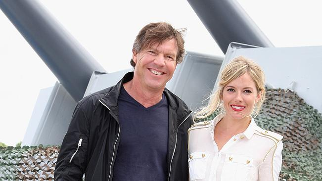 GI Joe Berlin Photocall 2009 Dennis Quaid Sienna Miller