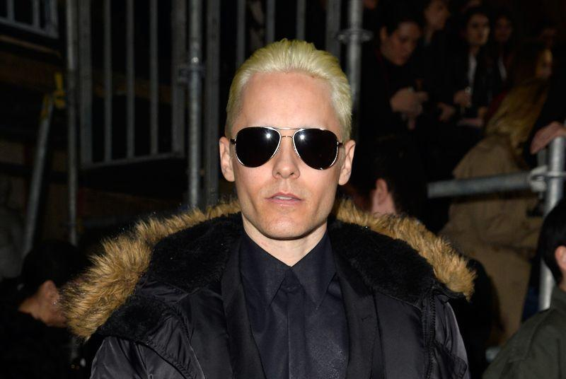 Jared Leto teases his new Joker with a duck-face selfie