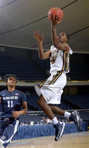 Xavier holds on to beat Drexel 69-65 in Anaheim