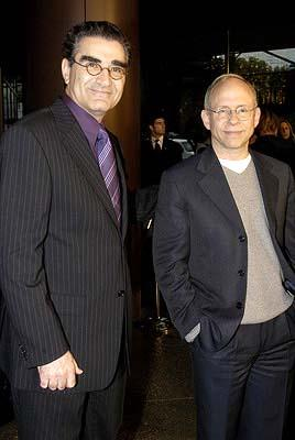 Premiere: Eugene Levy and Bob Balaban at the Hollywood premiere of Warner Bros. A Mighty Wind - 4/14/2003