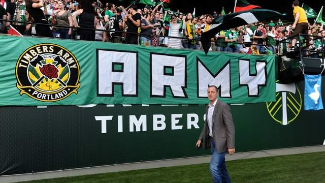 MLS commissioner Garber fines Timbers owner for actions toward league referees
