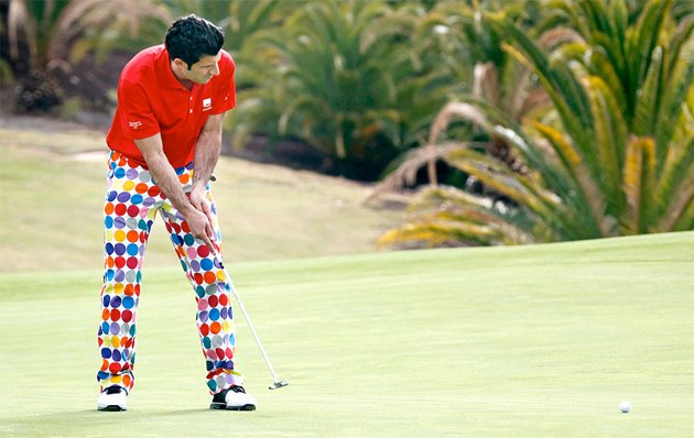 Hey Luis, John Daly called... (AFP/Globo.com)