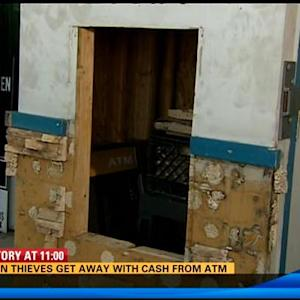 11AM UPDATE | Brazen thieves get away with cash from ATM