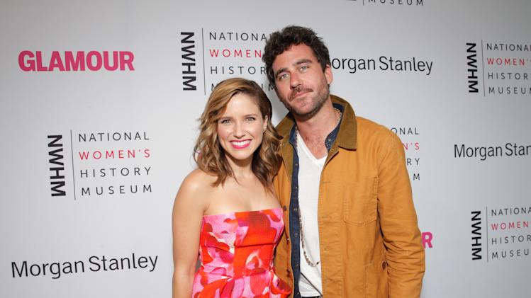 Sophia Bush and Bryn Mooser seen at the 3rd Annual Women Making History Brunch presented by the National Women's History Museum and Glamour Magazine at the Skirball Cultural Center on Saturday, August 23, 2014, in Los Angeles, Calif. (Photo by Todd Williamson/Invision for National Women's History Museum/AP Images)