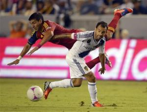 Donovan limps off as Galaxy loses to Salt Lake
