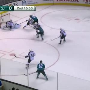 Reto Berra Save on Patrick Marleau (04:12/2nd)