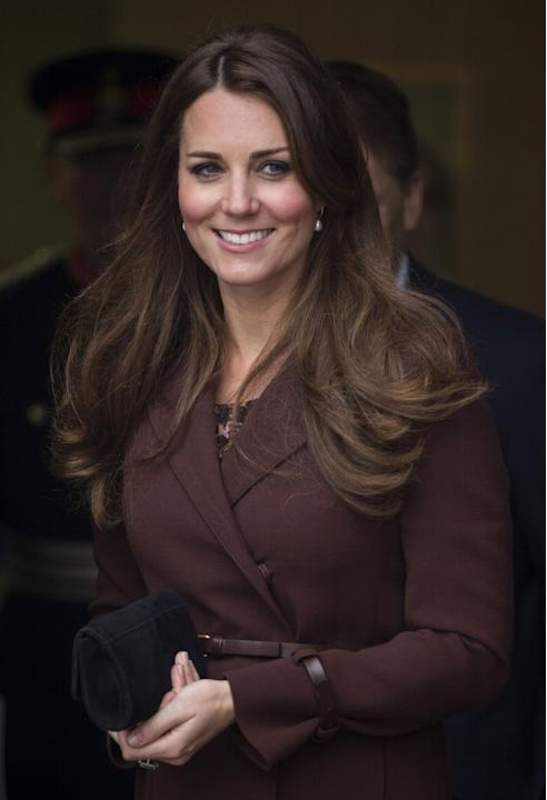 The Duchess Of Cambridge Makes An Official Visit To Grimsby