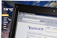 The websites of Bing and Yahoo! are pictured on computer monitors on July 29, 2009. Yahoo! made a deal with Microsoft in 2009 to have Bing power queries at its online properties, retaining control to personalize results while letting Bing index and sift Web content in the background