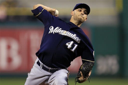 Brewers wins 4th straight, 3-1 over Pirates