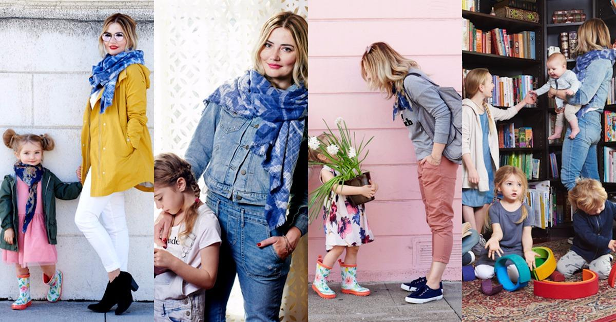 Mom of 6 Keeps it Together While Wearing Old Navy