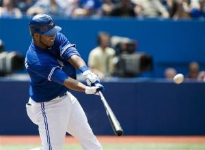 Encarnacion hits 28th HR, Blue Jays tag Sanchez